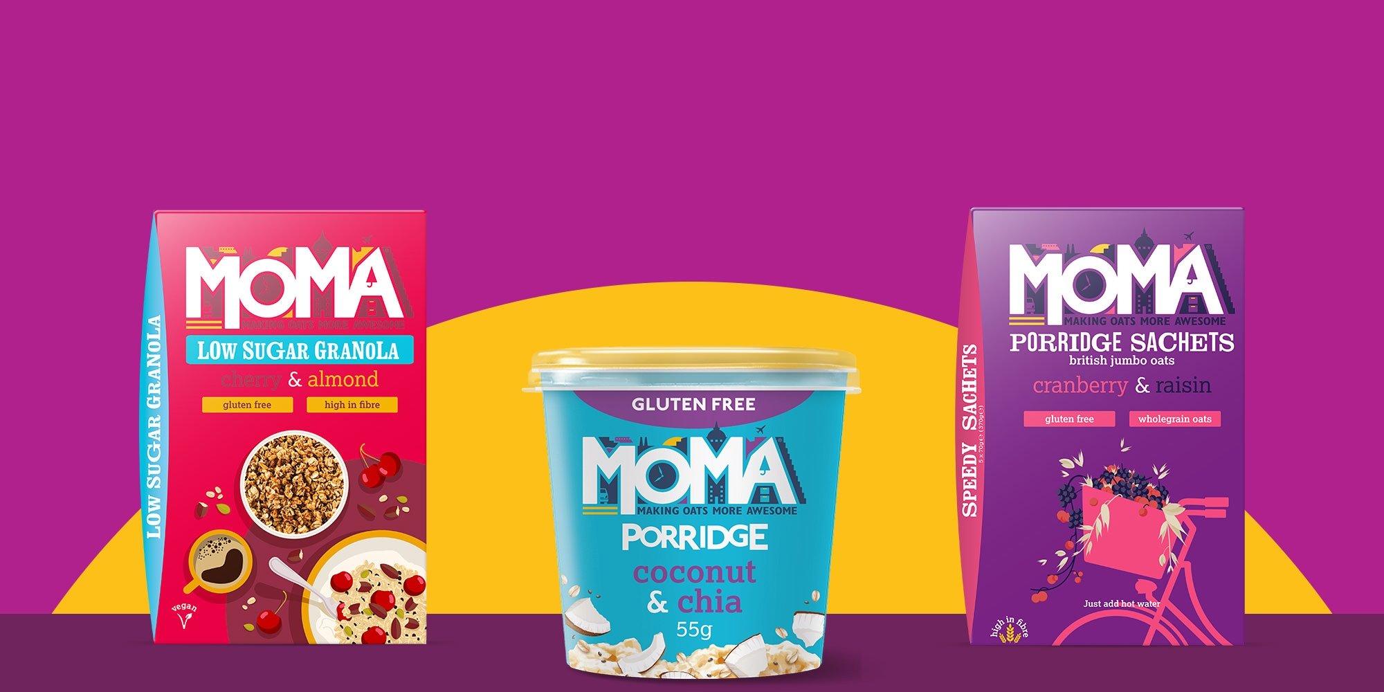 MOMA Granola & Porridge